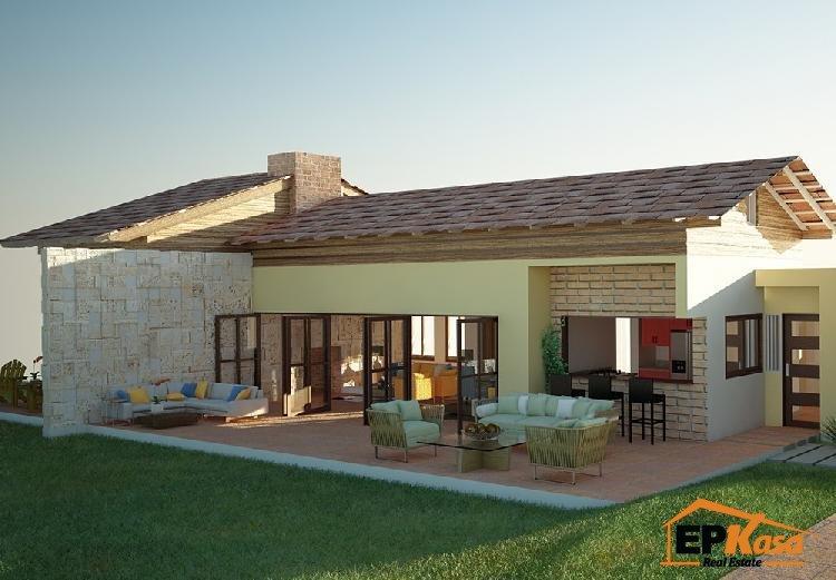 Villa de venta en proyecto exclusivo Jarabacoa