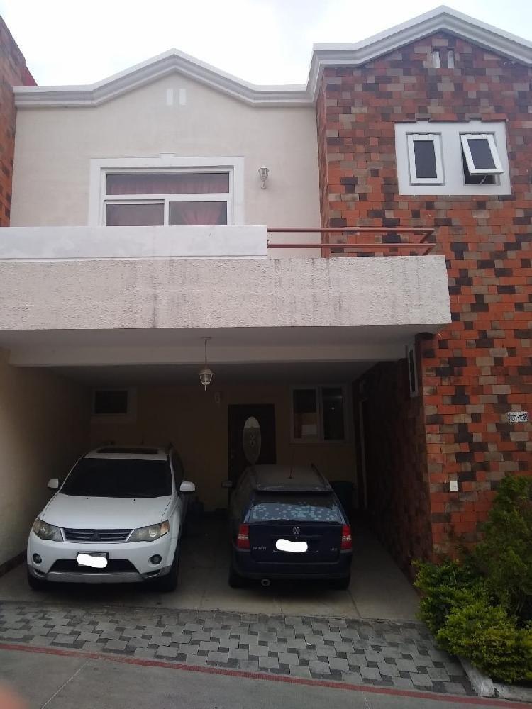 Casa en venta Condominio Altos del Encinal II, Mixco