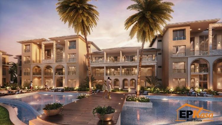 Apartamentos de venta en Punta Cana con vista al mar