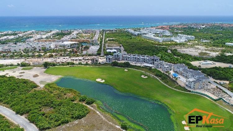 Apartamentos de venta en Punta Cana con campo de golf